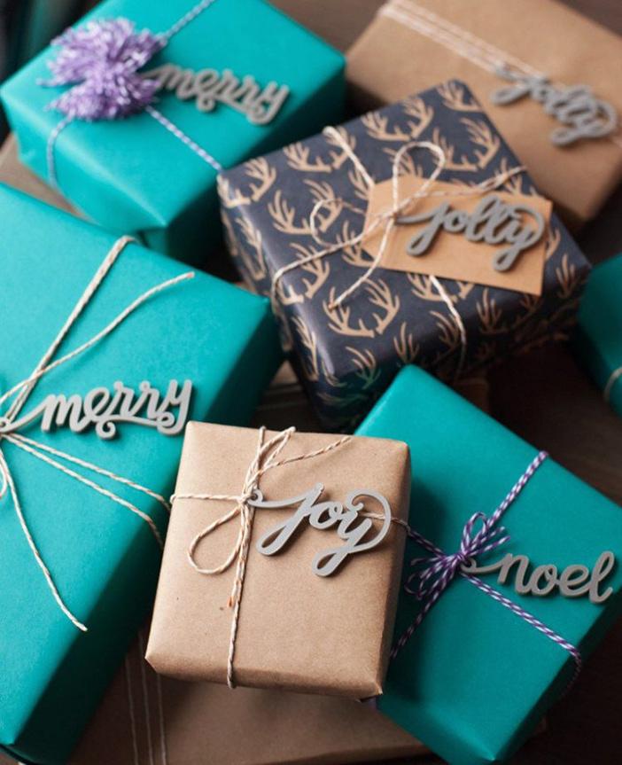 Материалы, декор для упаковки подарков