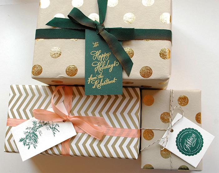 Выбор цвета упаковки для подарка