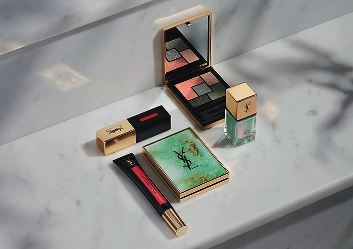 Yves Saint Laurent Boho Stones Collection Spring 2016