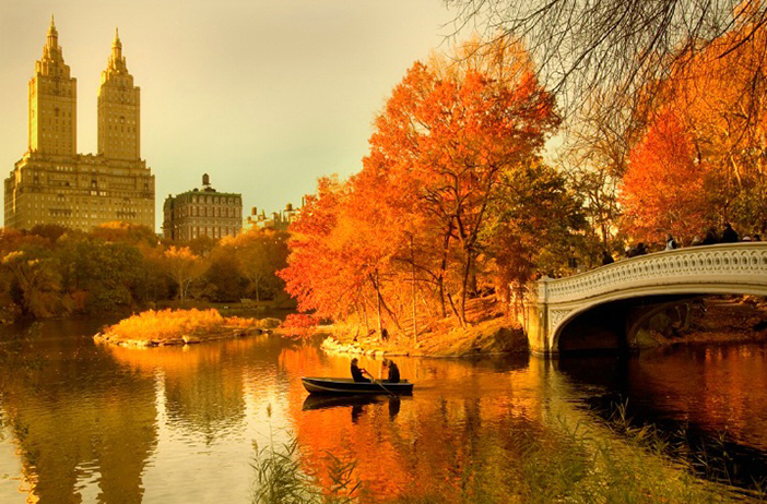 «Осень в Нью-Йорке» Autumn in New York