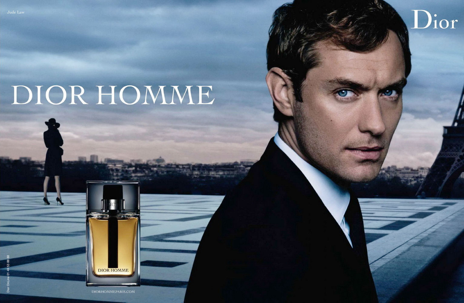 Dior Homme Jude Law