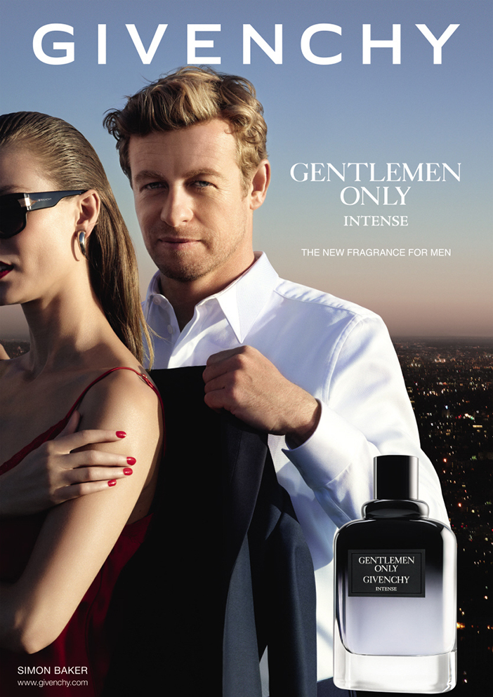 Simon Baker Givenchy Gentlemen Only