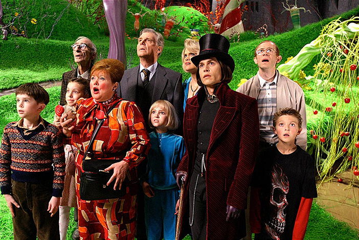 «Чарли и шоколадная фабрика» Charlie and the Chocolate Factory