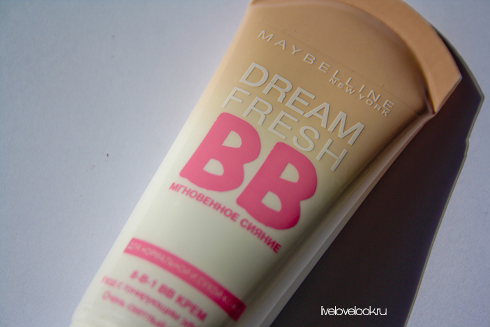 ВВ крем MAYBELLINE Dream fresh