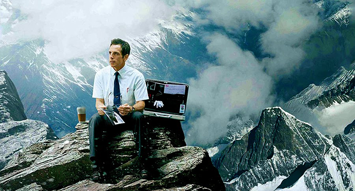 «Удивительная жизнь Уолтера Митти» The Secret Life of Walter Mitty (2013, Бен Стиллер)