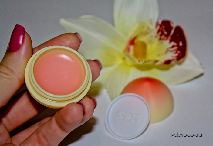 Бальзам для губ Tony Moly «Mini Peach Lip Balm»