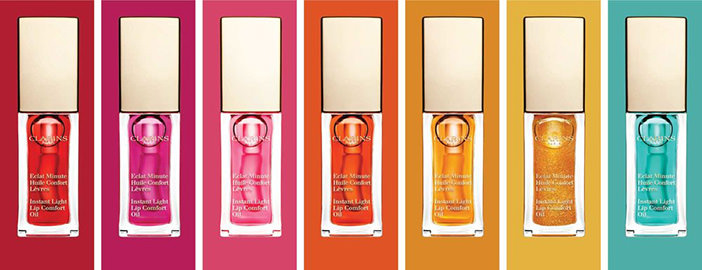 Clarins 2017 NEW Instant Light Lip Comfort Oil