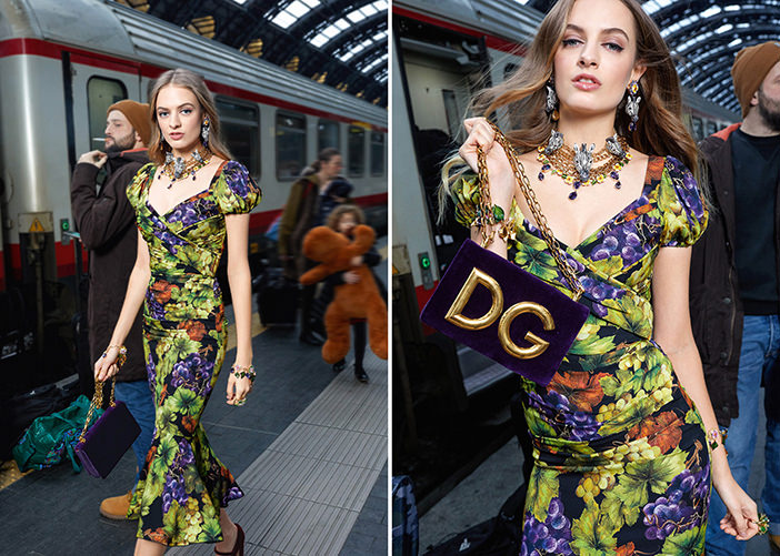 Dolce&Gabbana Fall/Winter 2018-2019 Collection Central Station