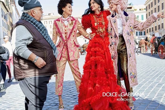 Рекламная кампания Dolce&Gabbana Fall/Winter 2018-2019