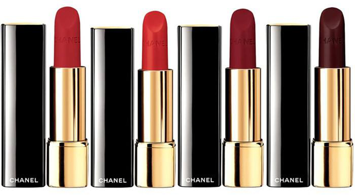 Lucia Pica and CHANEL Le Rouge Collection No.1 от Chanel
