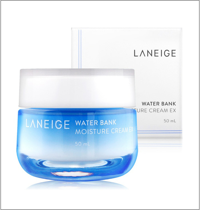 Назначение, обещания производителя, состав крема для лица Water Bank Moisture Cream EX от Laneige