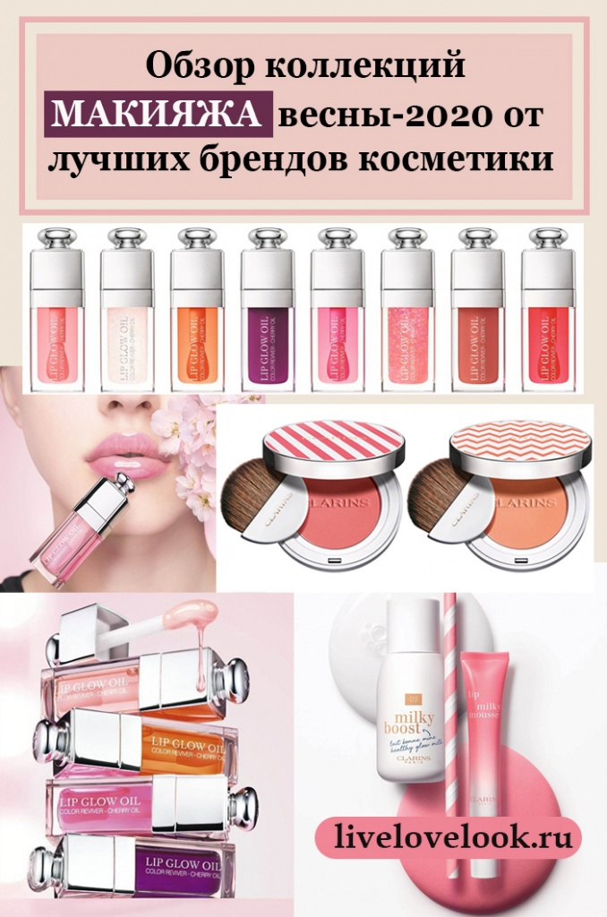 Весенние коллекции макияжа от Clarins, Guerlain, Chanel, Givenchy, Dior - Makeup Collection Spring 2020