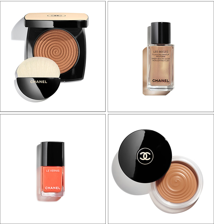 Летняя коллекция Chanel Summer of Glow Les Beiges Makeup Collection Summer 2020
