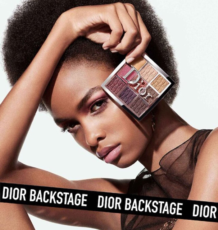 Палетка теней Dior Backstage Eye Palette 04 Rosewood Neutrals Summer 2020